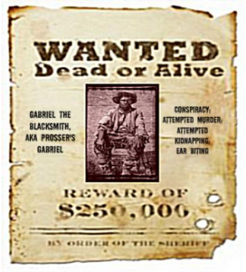 Gabriel's Wanted Poster
